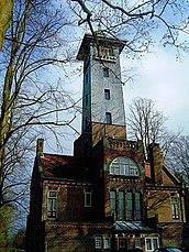 Torre de vigilancia y vivienda del guarda De Utrecht, Hilvarenbeek (con A. Kropholler)(1905)