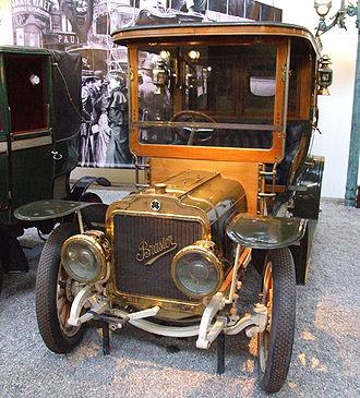 Brasier - Brasier Coupe Chaffeur KD, 1908, 4 cylindre, 24 HP, 3397 ccm, Cité de l'Automobile – Musée National – Collection Schlumpf, Mulhouse, France