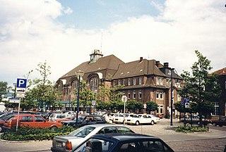Bremen–Bremerhaven railway railway line