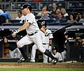 Brett Gardner during game against Dodgers 9-13-16 (3).jpeg