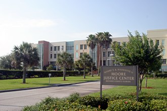 Brevard County, Florida - Harry T. and Harriette V. Moore Justice Center in Viera