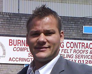 Brian Jensen (footballer, born 1975) - Jensen in May 2007