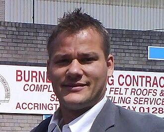 Brian Jensen (footballer, born 1975) - Jensen in May 2007
