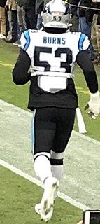 Brian Burns (American football) American football defensive end