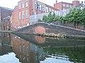 Bricked up bridge by Birmingham to Wolverhampton canal - geograph.org.uk - 1759643.jpg
