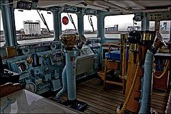 Bridge of Royal Yacht Britannia (6286613877).jpg