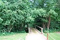 Bridge over Kent Water, Sussex Border path, Sweetwoods Park Golf Course - geograph.org.uk - 1375393.jpg