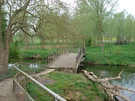 Brug over de Great Ouse in Newton Blossomville