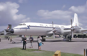 Bristol Britannia de la Royal Air Force.