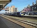 British Rail Class 170, Harrogate railway station (19th April 2019) 001.jpg