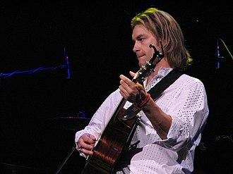 Bronson Arroyo - Bronson Arroyo concert at Mohegan Sun in January 2008