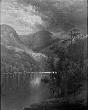 Henderson Lake (New York) - Henderson Lake circa 1881