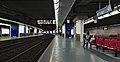 Bruxelles-Luxembourg train station platform 3 (Belgium).jpg