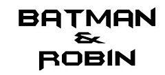 Batman i Robin