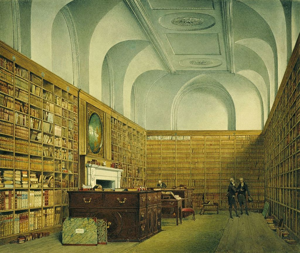 Букингемский дом, Восточная библиотека, Джеймс Стефанофф, 1817 - королевский колл 922140 257066 ORI 0.jpg