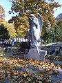 Bucuresti, Romania. Cimitirul Bellu Catolic. Ingerul in toamna. Nov. 2019.jpg