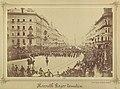 Budapest, Erzsébet körút, Kossuth Lajos temetési menete a Dohány utcánál. Fortepan 82039.jpg