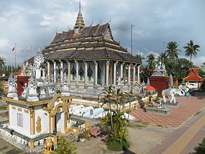 Buddhist temple, Battambang