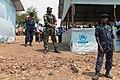 Bukavu, province du Sud Kivu. La police congolaise et les casques bleus sécurisent le camp des réfugiés Burundais à Lusenda (20864502233).jpg
