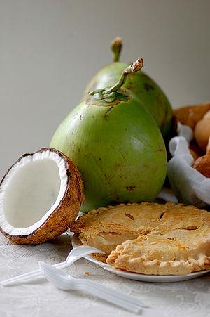 Buko pie - Image: Buko pie