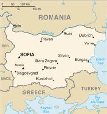 Bulgarien Karte Deutsch.Grenze Zwischen Bulgarien Und Rumanien Wikipedia