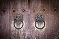 Bulguksa temple Dragonhead door-knocker.jpg