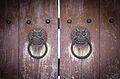 Bulguksa temple Dragonhead door-knocker.jpg