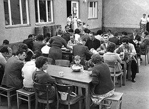 Marienfelde refugee transit camp - Marienfelde refugee camp, July 1961