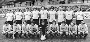 Dynamo Dresden - The championship-winning squad of 1975–76