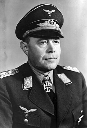 Albert Kesselring - Kesselring wearing his Knight's Cross in 1940
