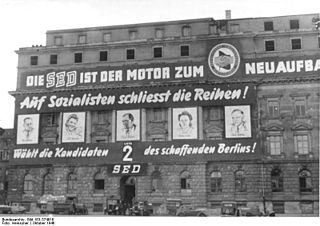 1946 Soviet occupation zone state elections election