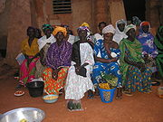 Vendors in Burkina Faso.