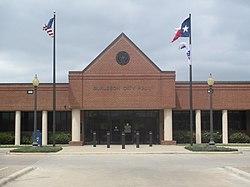 Burleson, TX, City Hall IMG 7080.JPG
