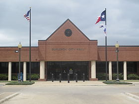 Burleson, TX, City Hall IMG 7080.JPG