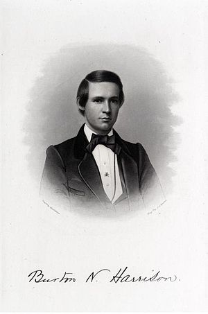 Burton Harrison - Burton N. Harrison, Yale College Class of 1859