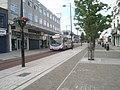 Bus lane in London Road - geograph.org.uk - 1365730.jpg