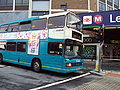 Bus outside Leeds railway station - DSC07508.JPG