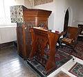 Bush End, Essex, England ~ St John Evangelist interior ~ pulpit 02.jpg
