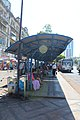 Busstop in Yangon downtown.JPG