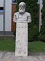 Bust of Mihály Táncsics by László Rajki, 2017 Dabas.jpg