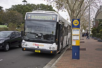 Busways (New South Wales) - Custom Coaches bodied Scania K230UB at Castle Hill in July 2013