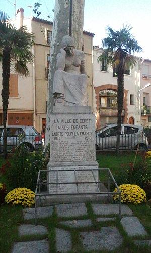 War memorial of Céret - Image: Céret Monument aux morts