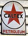 CALTEX petrolium, enamel advertising sign.JPG