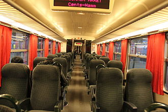 CFL Class 2000 - Image: CFL Class 2000 second class