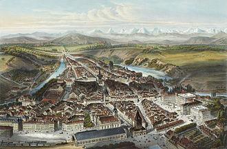 History of Bern - Bern in 1858