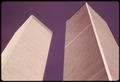 CLOSEUP OF THE WORLD TRADE CENTER TOWERS IN NEW YORK CITY - NARA - 555278.tif