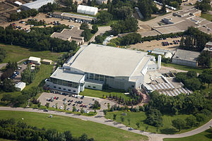 Canadian Light Source - The Canadian Light Source building from the air