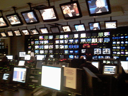 CNBC's current control room CNBC NJ HQ Control Room.jpg
