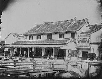 Cabang Atas - Image: COLLECTIE TROPENMUSEUM Het huis van de Majoor der Chinezen Be Biauw Tjoan T Mnr 60043635