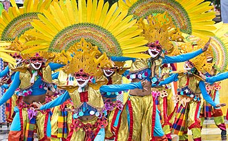 MassKara Festival - Masskara Festival Dancers in Bacolod City